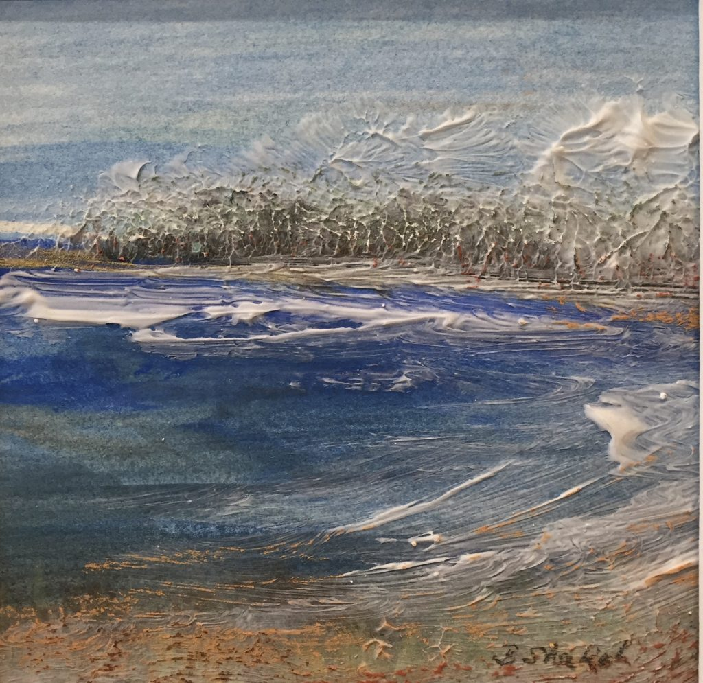 Barbara-Lee-Shakal-Chill-In-The-Air-Pastel-Acrylic