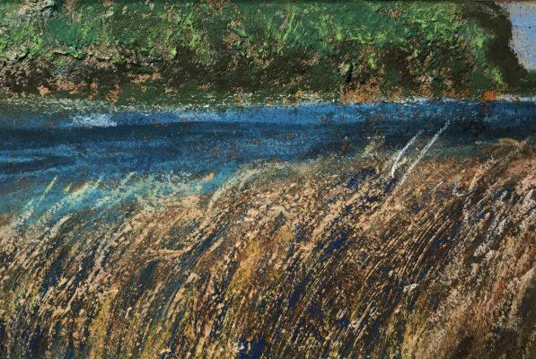 """Ephraim Harbor""<br>Pastel & Acrylic<br> 12""x18"""
