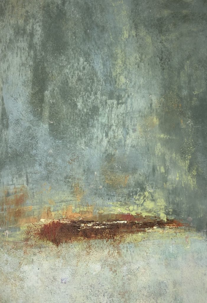 Julia-Redwine-Evening-I-Oil-_-Cold-Wax
