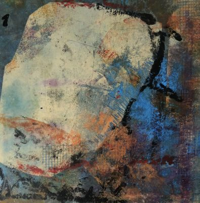 """""""On A Roll II"""" <br>Oil Cold Wax<br> 10""""x10"""""""