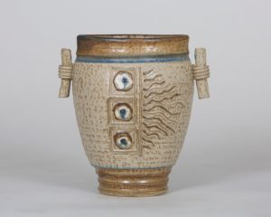 "Linda Sheard ""Handled Vase"" Stoneware Clay"
