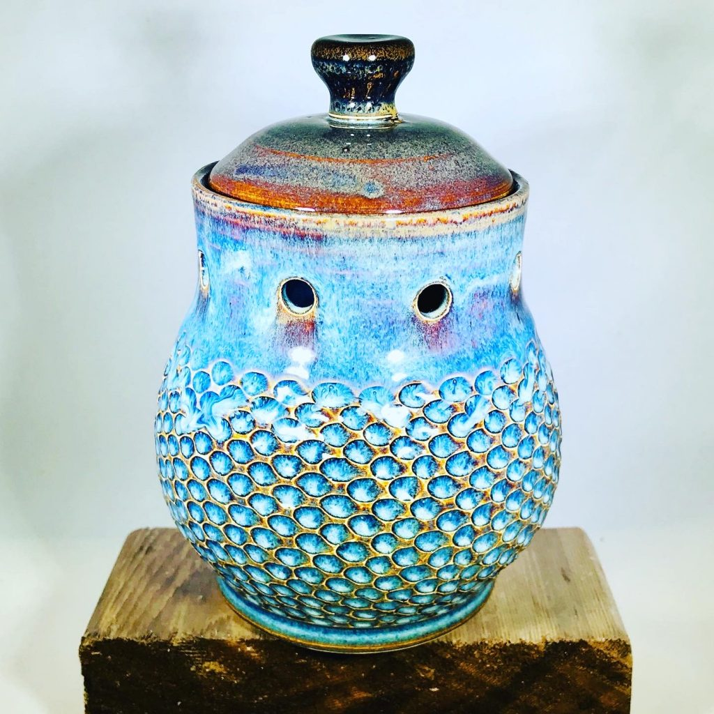 "Liz Butler ""Garlic Keeper"" Ceramics"