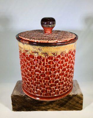 """""""Lidded Jar"""" <br> Ceramics"""