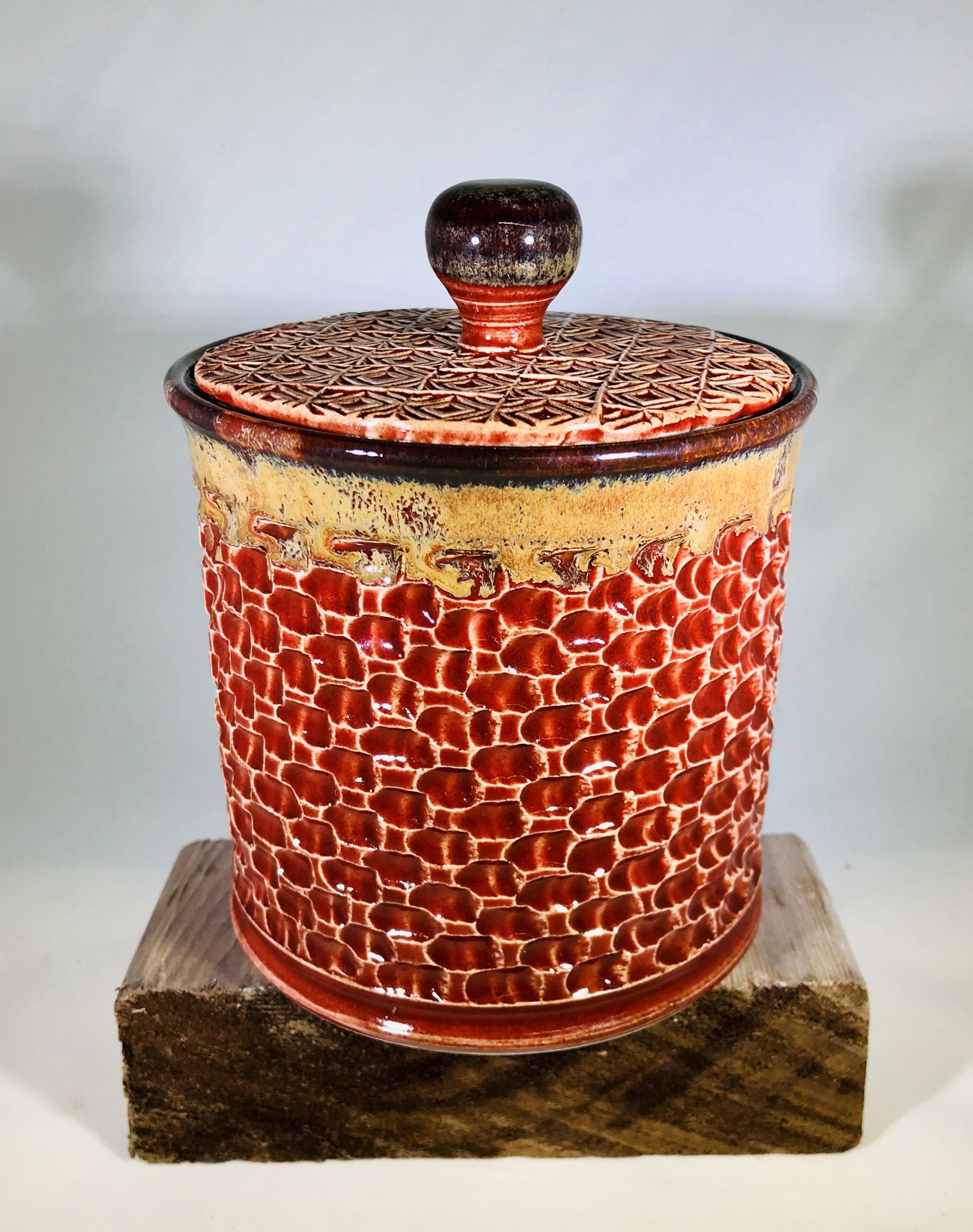 "Liz Butler ""Lidded Jar"" Ceramics"