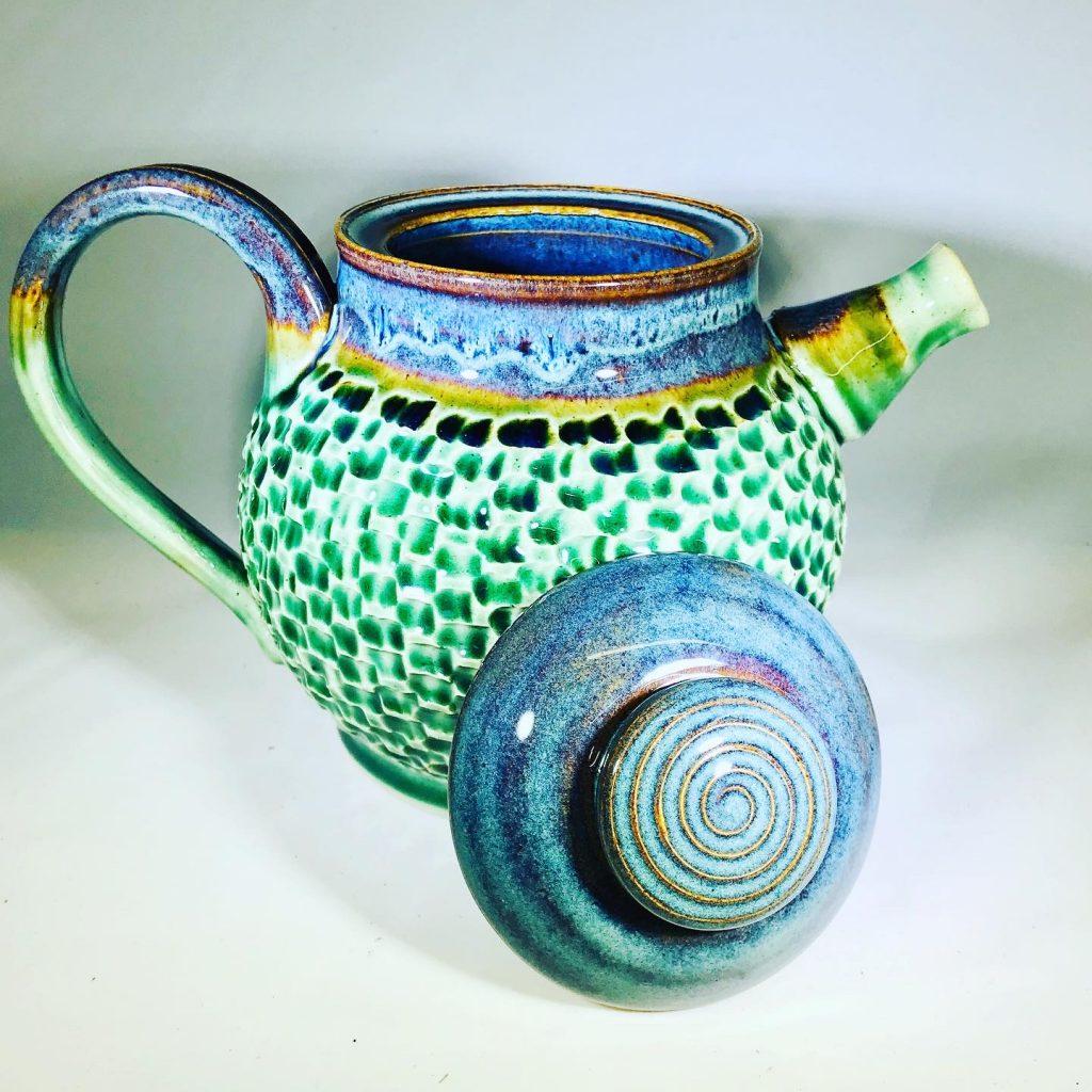 """Liz Butler """"Teapot"""" Ceramics"""