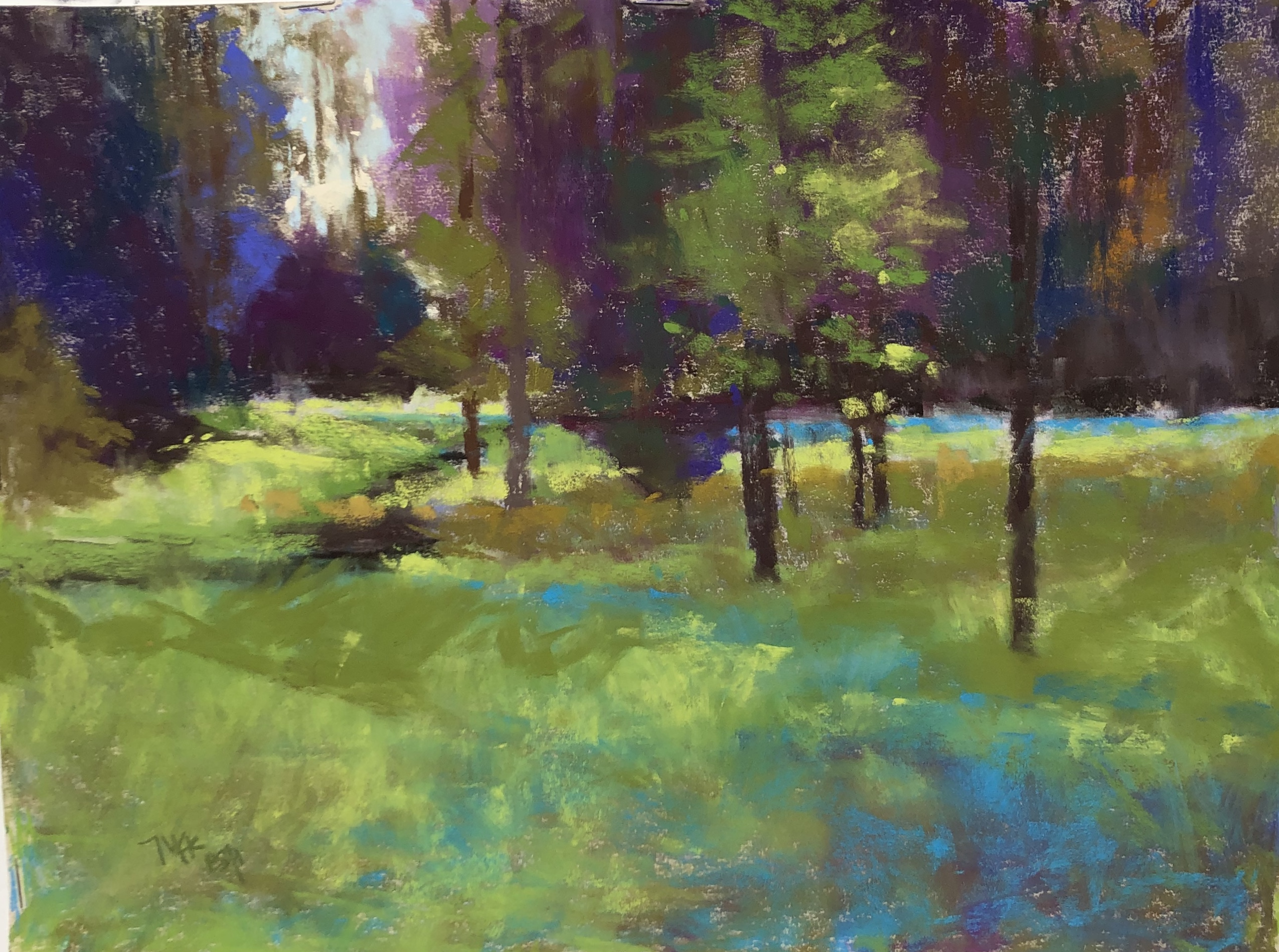 Mac-Schueppert-Heins-Creek-Afternoon-pastel