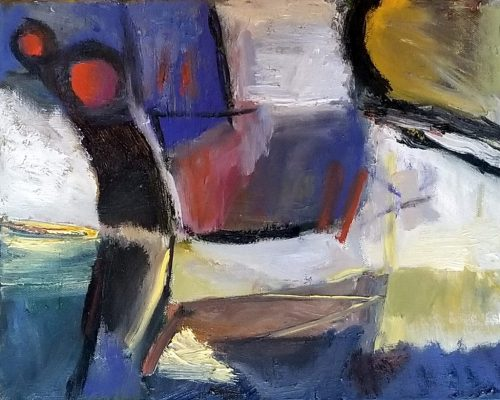 """Nightfall""<br>Oil On Canvas<br>11""x14"""