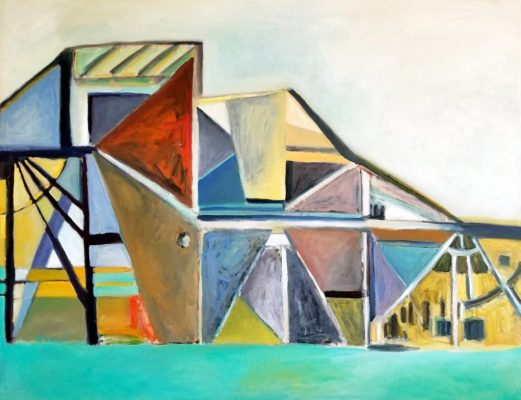 """Supplemental Angles""<br>Oil On Canvas<br> 46""x60"""