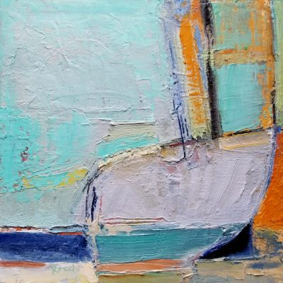 """""""Vessel""""<br> Oil On Canvas<br> 12""""x12"""""""