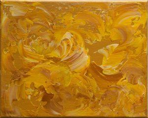Monica-Ramirez-Golden-Flowers-Acrylic