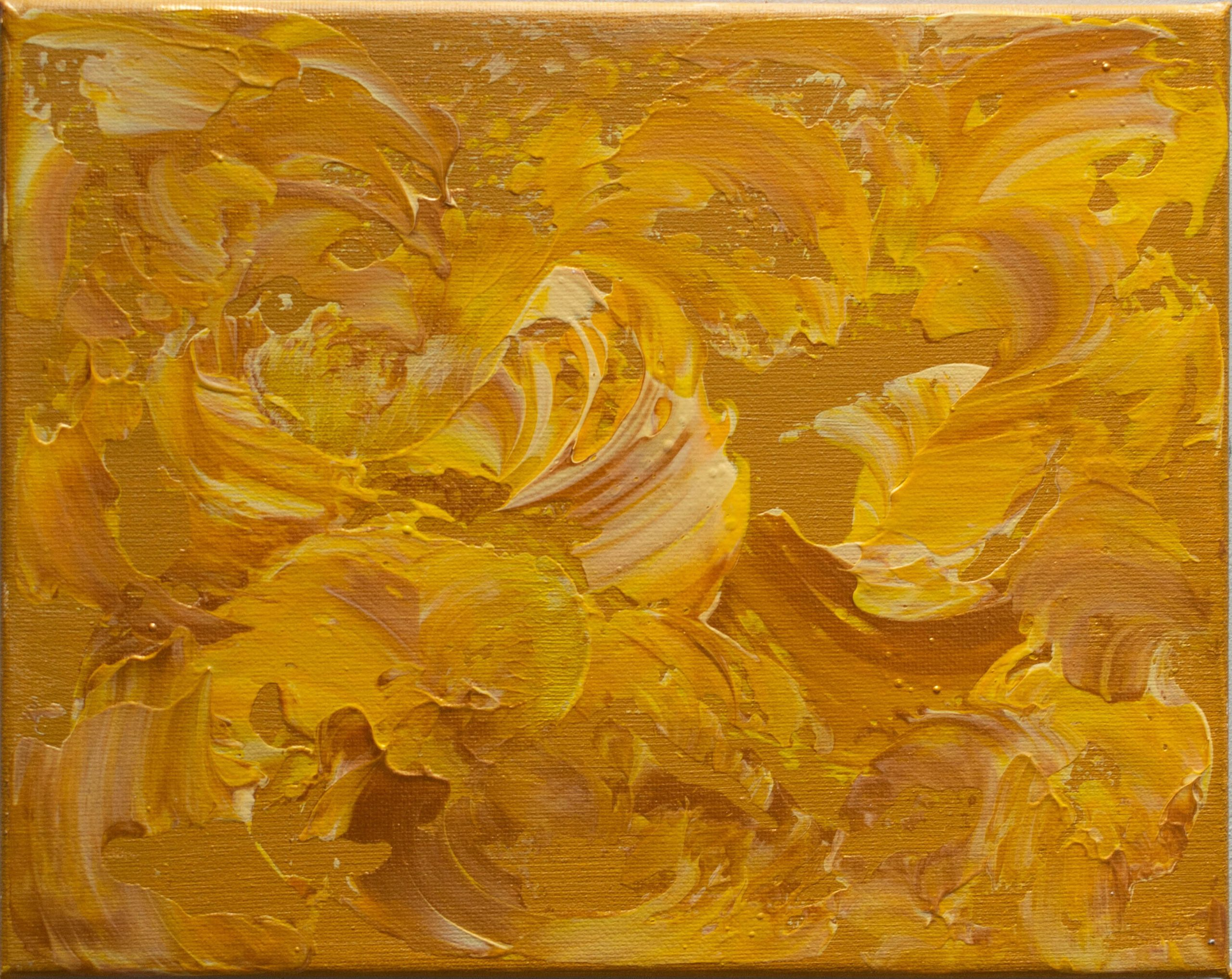 Monica-Ramirez-Golden-Flowers-Acrylic