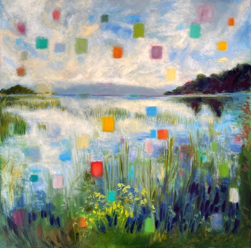 Stephanie Trenchard- Evening Marsh-Oil-Painting-36_x36
