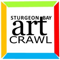 Sturgeon Bay Art Crawl Logo