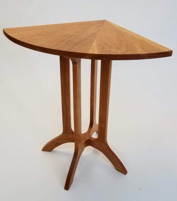 Wood Corner Table