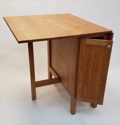 Wood Drop Leaf Table