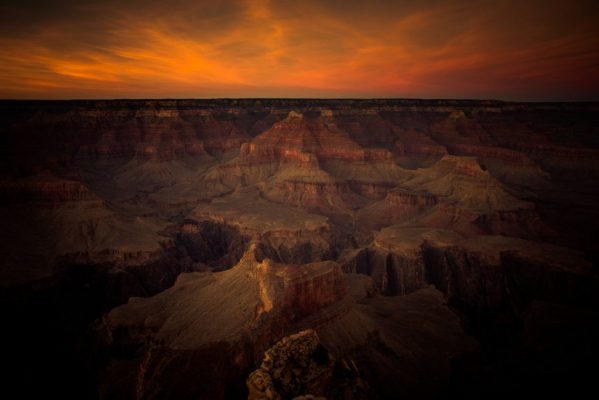 """""""Grand Canyon Sunset""""<br>  Photography"""