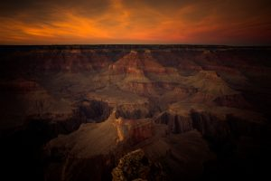 "Mike Caplan ""Grand Canyon Sunset"" Photography"