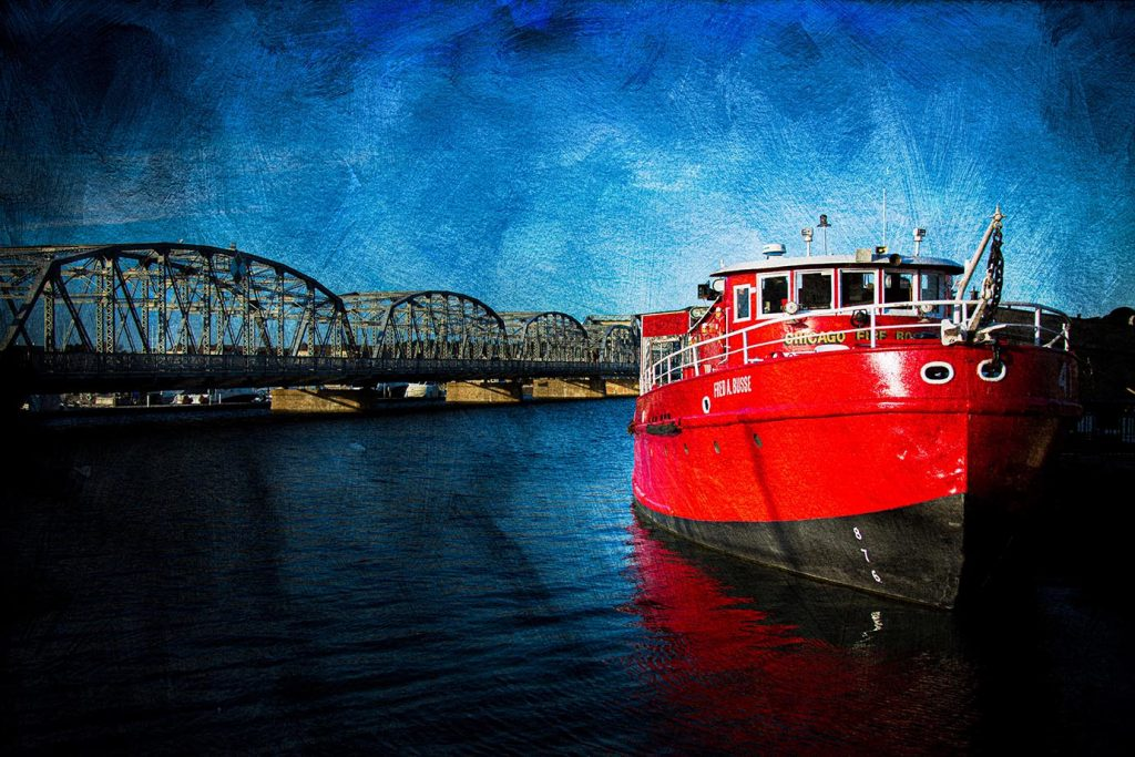 Laura Caplan-Fred A Busse Fire Boat-Photography