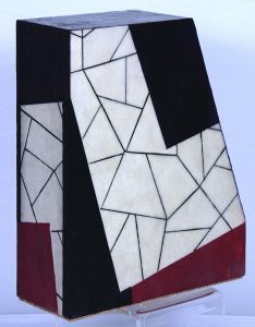 """Dale Vanden Houten """"Fractured Abstraction II"""" Relief in 3D 12 X 8 X 4"""