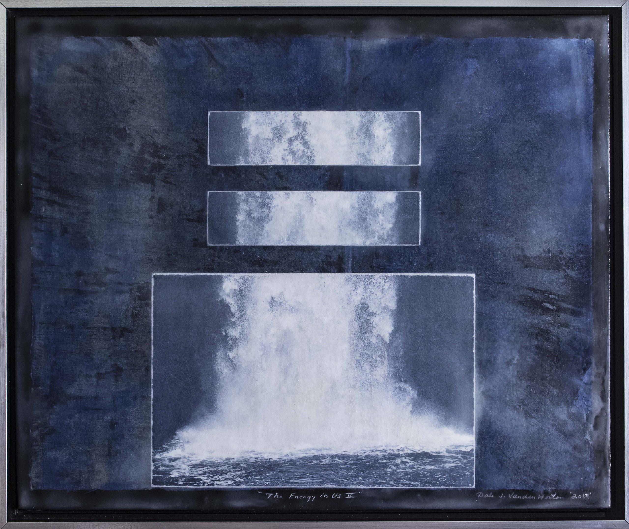 """Dale Vanden Houten """"The Energy In Us II"""" Intaglio 16 X 20"""
