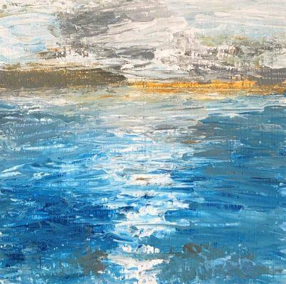 """""""Shore Wave""""<br> Acrylic <br> 8x10"""