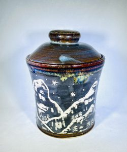 Liz Butler Lidded Jar Ceramics