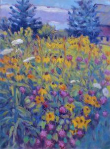 Lynn Gilchrist-Quiet at Rock Farm-oil-14x11