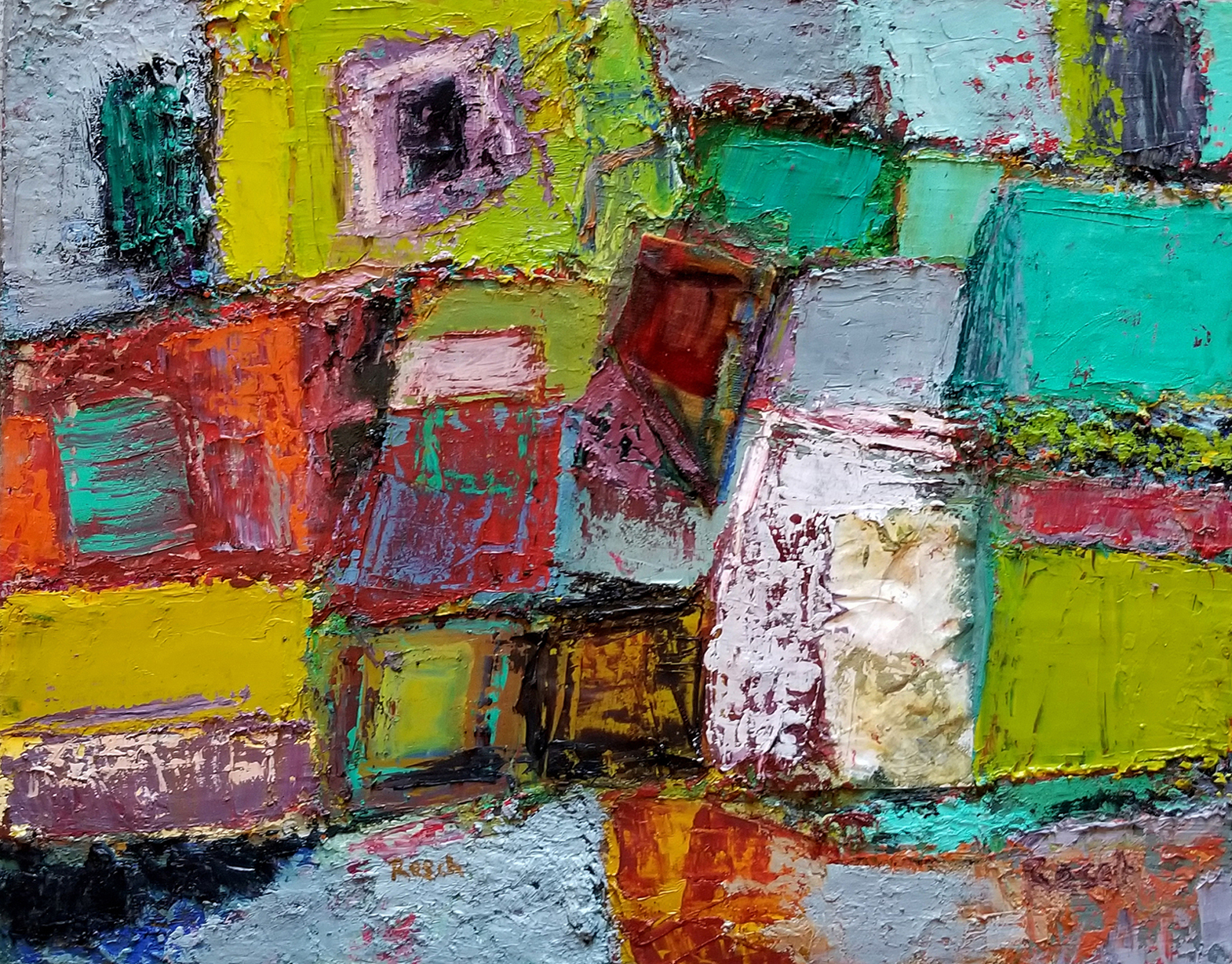 Melissa Resch Oil On Canvas 16x20