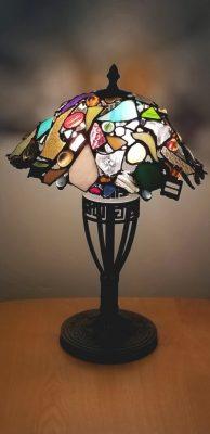 Art Deco Lamp Mixed 20x14x14